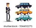 design concept of choice car... | Shutterstock .eps vector #536652271