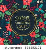creative cards. christmas... | Shutterstock .eps vector #536653171