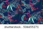 fairy magic seamless vector...   Shutterstock .eps vector #536655271