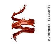 Spiral Splash Of Chocolate...