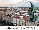 lviv  ukraine   february  2014  ... | Shutterstock . vector #536690791