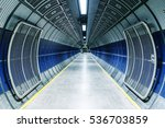 underground tunnel in the... | Shutterstock . vector #536703859