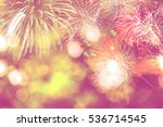 background festive new year... | Shutterstock . vector #536714545