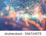 background festive new year... | Shutterstock . vector #536714575