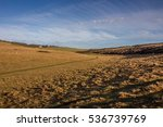 farmland views from the south... | Shutterstock . vector #536739769