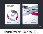 business vector set. brochure... | Shutterstock .eps vector #536753317
