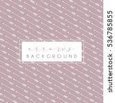 arrows background  vector hand... | Shutterstock .eps vector #536785855