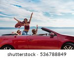 group of happy young people... | Shutterstock . vector #536788849