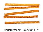salty cracker pretzel sticks...   Shutterstock . vector #536804119