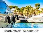 spain majorca island  yacht... | Shutterstock . vector #536805019