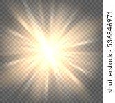 sunburst icon. sun rays on... | Shutterstock .eps vector #536846971