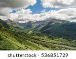 beautiful landscape in the... | Shutterstock . vector #536851729