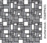 seamless pattern with squares   Shutterstock .eps vector #536899651