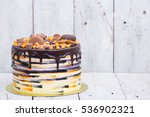 bright fresh homemade cake... | Shutterstock . vector #536902321