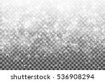 falling snow on a transparent... | Shutterstock .eps vector #536908294