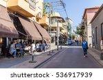 tel aviv   november 26  neve... | Shutterstock . vector #536917939
