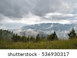 fog after the rain in the... | Shutterstock . vector #536930317