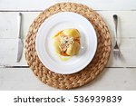 this is photo of plate with... | Shutterstock . vector #536939839