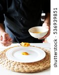this is photo of chef preparing ... | Shutterstock . vector #536939851