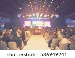 blur halal conference assembly  ... | Shutterstock . vector #536949241
