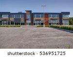 unoccupied generic store front  ... | Shutterstock . vector #536951725
