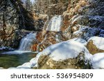 winter view of popina luka... | Shutterstock . vector #536954809