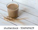 traditional drink from balkan... | Shutterstock . vector #536969629