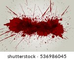 vector blood splatter...