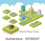 vector for building your city... | Shutterstock .eps vector #53700247