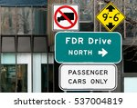 Fdr Drive North Sign. Fdr Is A...