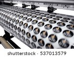 large printer format inkjet... | Shutterstock . vector #537013579