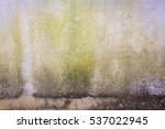 cracked concrete vintage wall... | Shutterstock . vector #537022945