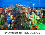 seaside heights  nj  usa august ...   Shutterstock . vector #537023719