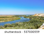 natural park of the don.... | Shutterstock . vector #537030559