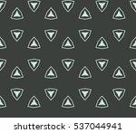 decorative wallpaper design in... | Shutterstock .eps vector #537044941