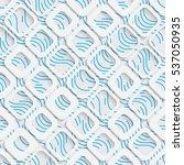 seamless elegant square pattern....   Shutterstock .eps vector #537050935