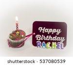 personalized happy birthday... | Shutterstock . vector #537080539