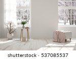 White Room With Chair And...