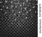sparkling texture. vector... | Shutterstock .eps vector #537085879