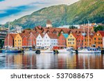 bergen  norway. view of...