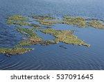 salt lake in the danube delta ... | Shutterstock . vector #537091645