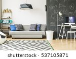 cosy and comfortable room... | Shutterstock . vector #537105871