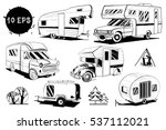 vector illustration of set... | Shutterstock .eps vector #537112021