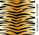 tiger animal print pattern... | Shutterstock .eps vector #537124885