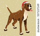 vector polygon dog collection....   Shutterstock .eps vector #537137149