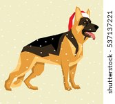 vector polygon dog collection....   Shutterstock .eps vector #537137221