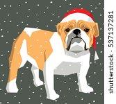 vector polygon dog collection....   Shutterstock .eps vector #537137281