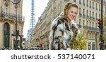 boiling hot trendy winter in... | Shutterstock . vector #537140071
