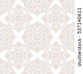 vintage seamless pattern | Shutterstock .eps vector #537140611
