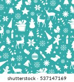 vector pattern christmas and... | Shutterstock .eps vector #537147169